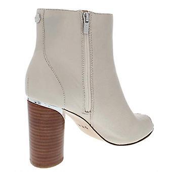 DKNY Womens Benson Leather Peep Toe Booties