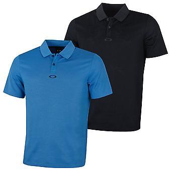 Oakley Hommes SS Perforé Léger Graphic Golf Polo Shirt