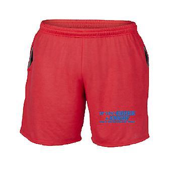 Pantaloncini tuta rosso trk0072 chock a smurf rk
