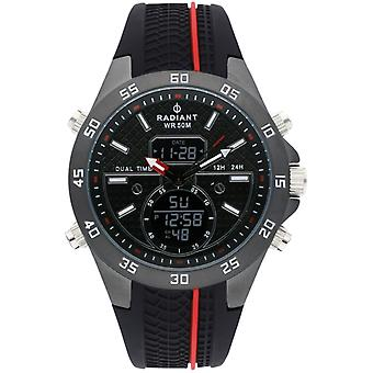 Radiant kibet Watch for Men Analog / Quartz Digital with RA484702 Rubber Bracelet