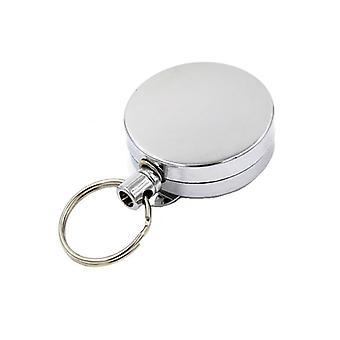 Key holder with yo-yo function