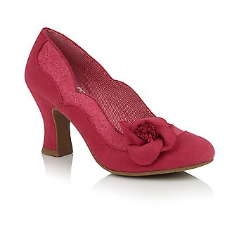 Ruby Shoo Mujeres's Veronica Lace Corsage Court Shoe