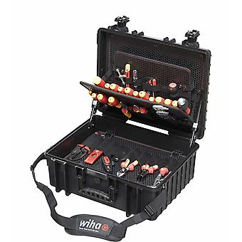 Wiha Tools 80 Piece Electricians Competence Tool Chest