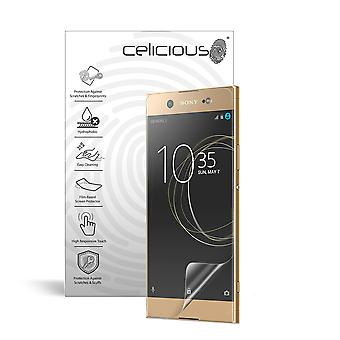 Celicious Impact Anti-Shock Shatterproof Screen Protector Film Compatible with Sony Xperia XA1 Ultra