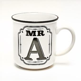 Histoire et Héraldique Alphabet Mugs-mr A