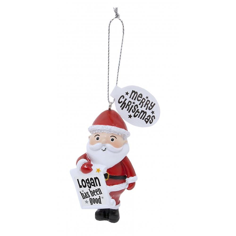 History & Heraldry Festive Friends Hanging Tree Decoration - Logan