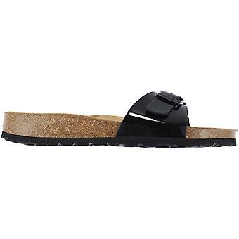 Sanosan Malaga 740W-334-01 Women's Shoes Black Sneakers Sports Shoes