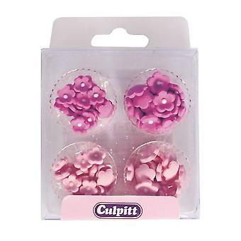 Culpitt Mini Fiori Rosa Zucchero Pipings