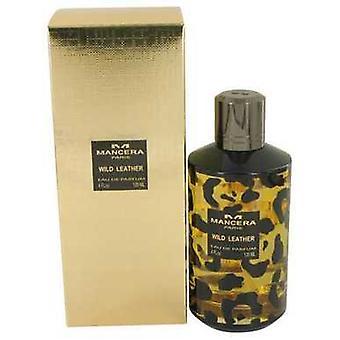 Mancera Wild Leder von Mancera Eau De Parfum Spray (unisex) 4 Oz (Frauen) V728-536469