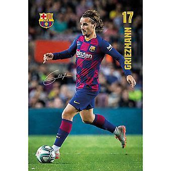 FC Barcelona Griezmann Affisch