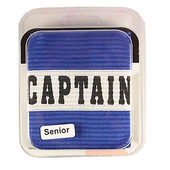 Captains Armband Captain Style Blue Senior