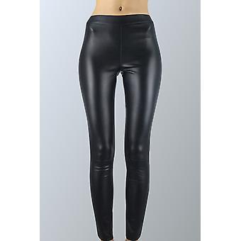 Black leather leggings Sam-rone Women