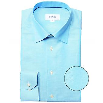 Eton Slim Fit Leinen Mischung Shirt