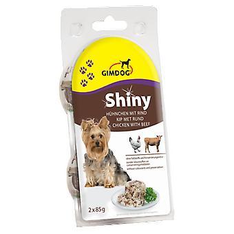 Gimdog Chicken-Ox Shinydog 2X85 Gr (Dogs , Dog Food , Wet Food)