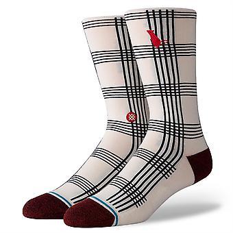 Stance Inline Men's Socks ~ Rat Plaid