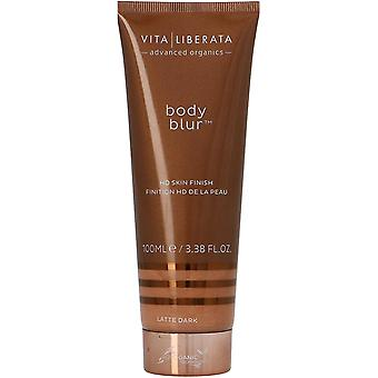 Vita Liberata Body Blur HD Skin Finish Self Tan Lotion Latte Dark 100ml