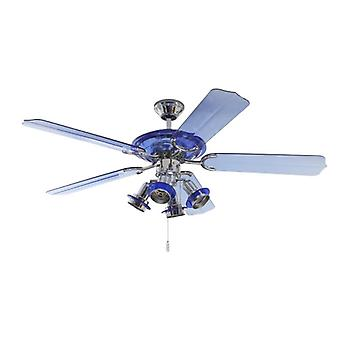 Ceiling fan Blue Angel with lights 132cm / 52