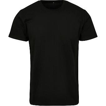 Cotton Addict Mens Basic Crew Neck Classic T Shirt