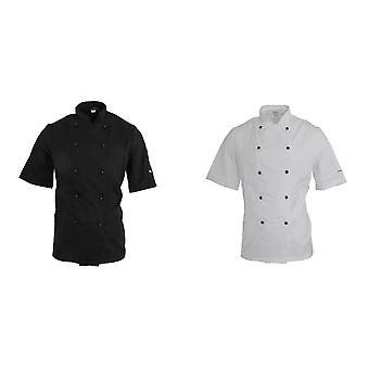 Dennys AFD Adults Unisex Thermocool Chefs Jacket (Pack of 2)