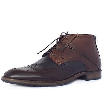 Camel Active Change Como Men's Multicolour Brogue Style Boots