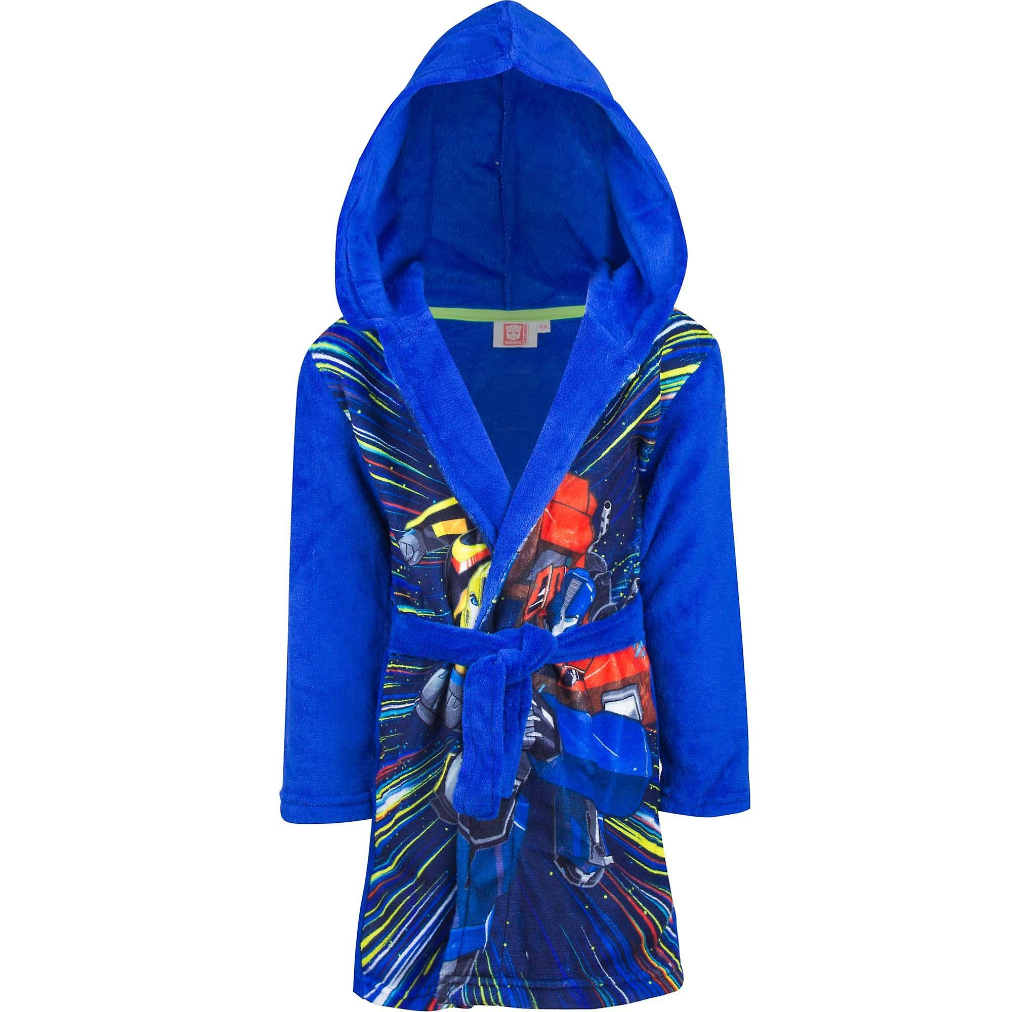 Transformers boys dressing gown bathrobe