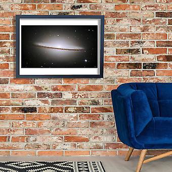Hubble Telescope - M104 ngc4594 sombrero galaxy Poster Print Giclee