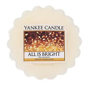 Yankee Candle Wax Tart Melt All Is Bright