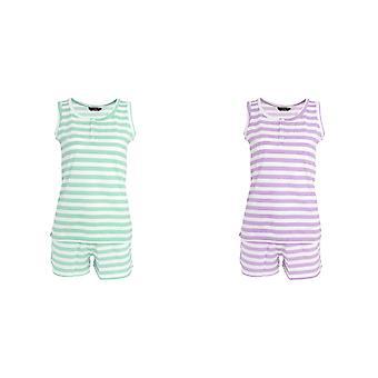 Tom Franks Womens/Ladies Short Striped Pyjama Set