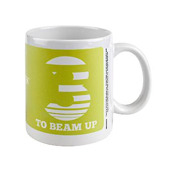 Star Trek, Mug - Trois à beam Up