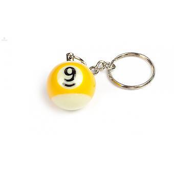 Keychain/Key Chain billiard Ball (NO #9)