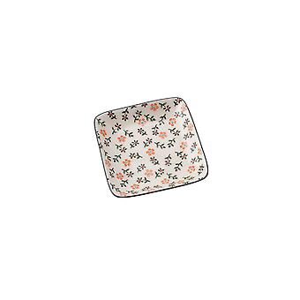 CGB Giftware Floral Square Dish
