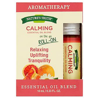 Nature's truth on the go essential oil blend roll-on, calming, 10 ml