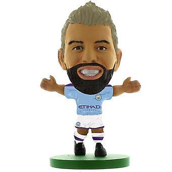 Manchester City FC Sergio Aguero 2020 Version SoccerStarz