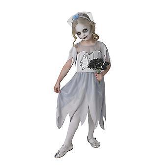 Bristol Novelty Girls Dearly Departed Bride Dress Costume