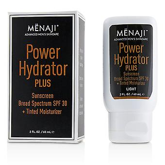 Menaji Power Hydrator Plus Sunscreen Broad Spectrum Spf 30 + Tinted Moisturizer (light) - 60ml/2oz