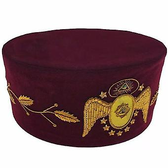 95Th degree scottish rite hand embroidered masonic cap