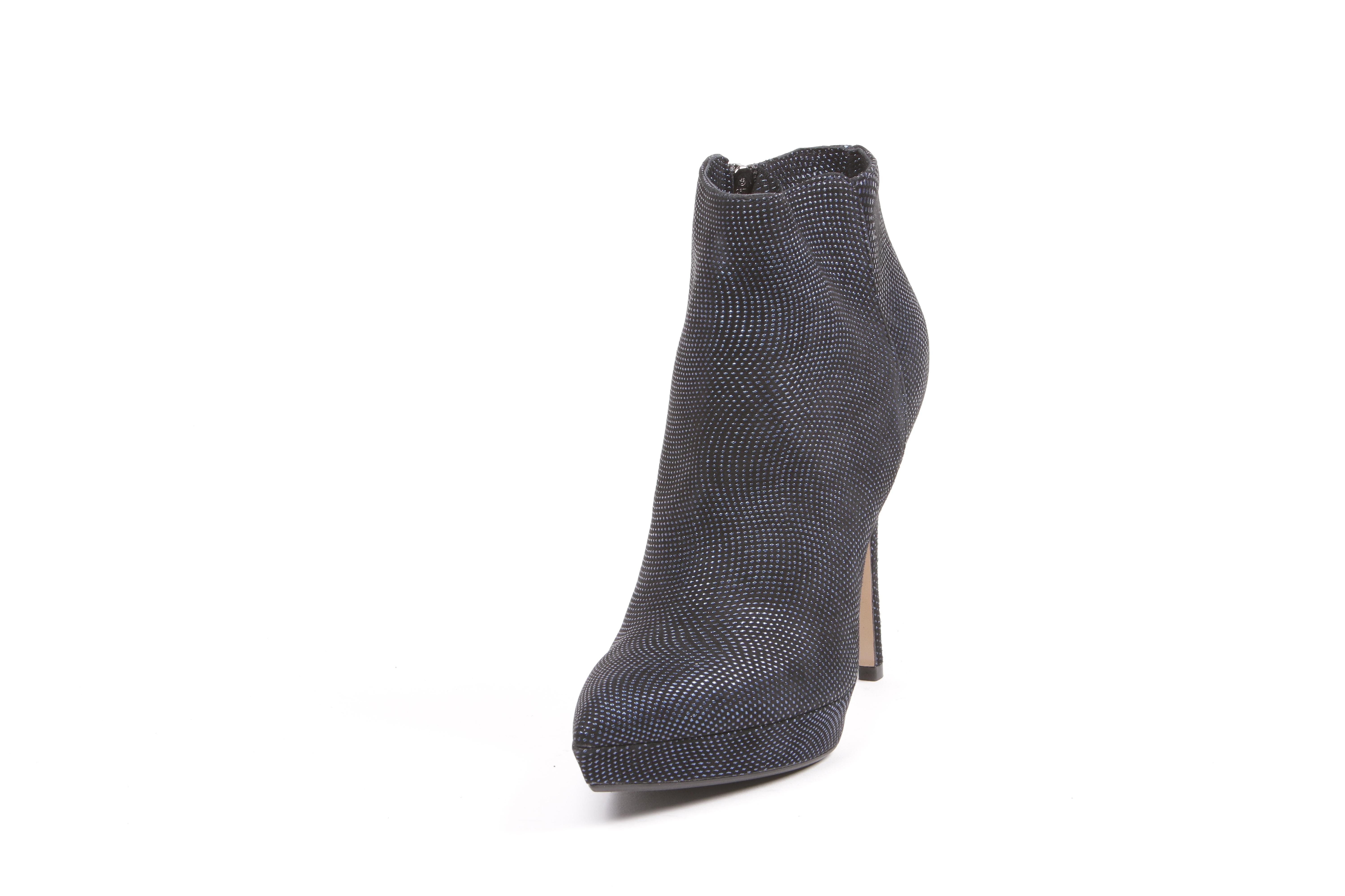 The Seller S5329b6708 Women's Blue Suede Ankle Boots