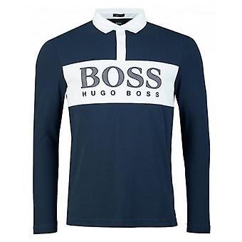 Boss Athleisure Plisy 1 Long Sleeved Polo