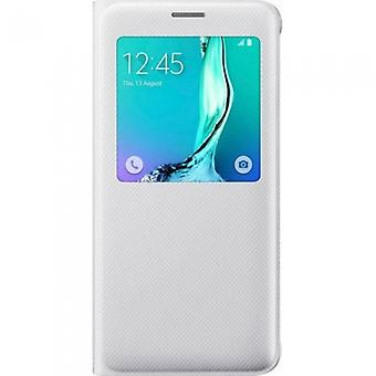 Samsung EF-CG928PWEGWW S-view cover white for Galaxy S6 edge +