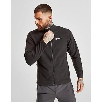 New Berghaus Men's Hartsop Full Zip Fleece Jacket Black
