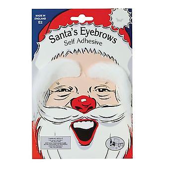 Eyebrows. White (Santa)