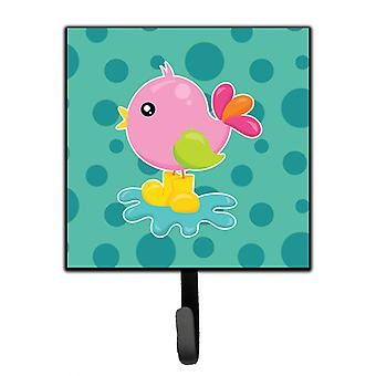 Carolines Treasures  BB7103SH4 Bird in Rainboots and Puddle Leash or Key Holder