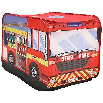 Charles Bentley Fire Engine Play Zent Indoor Outdoor Polyester Pop Up