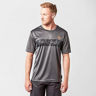 New Raceface Men's Trigger Torino Tech Short Sleeve Top Grey