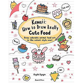 Kawaii - How to Draw Really Cute Food - Draw Adorable Animal Food Art i