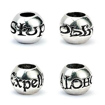 Harry Potter Silver Plated Bead Charm Set