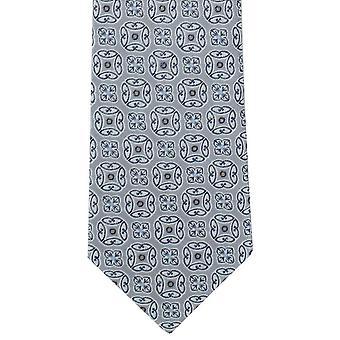 Michelsons Lontoo rohkea mitali Polyesteri tie - hopea
