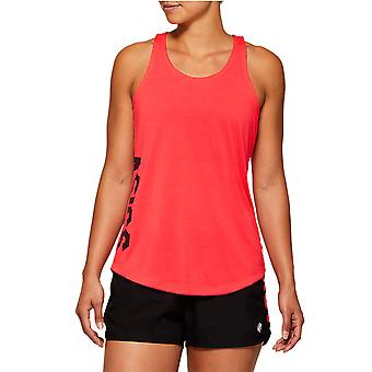 Asics Essential GPX Womens Ladies Exercise Fitness Training Tank Top Pink
