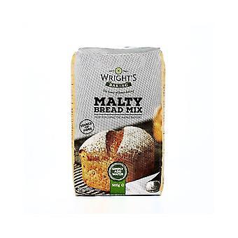 Wrights Baking Wrights Malty Bread Mix 500g X 5 Confezioni