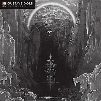 Gustave Dore Wall Calendar 2020 Art Calendar by Created by Flame Tree Studio